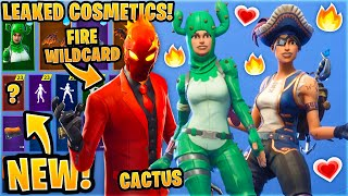 *NEW* All Leaked Fortnite Skins & Emotes..! (Lava Wildcard, Buccaneer, Sea Wolf, Jazz Hands)