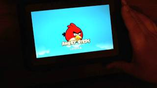 Angry Birds for the BlackBerry PlayBook!