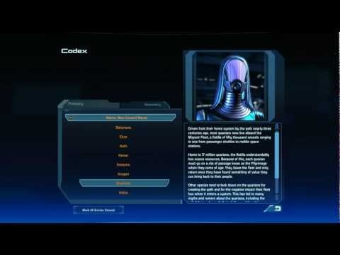 Let's Play Mass Effect - bonus - Primary codex