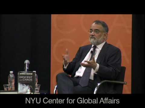 Part I: Ahmed Rashid & Gideon Rose (NYU CGA 'In Print')