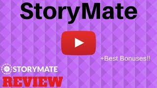 Storymate - World's First 'Story' Tool to Create, Post and Send Huge Traffic to Your Sites