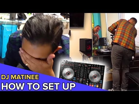 THE LIFE OF DEE | Ep5 | How to Set up DJ Equipment W/Eric Dlux