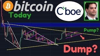 BIG DUMP Coming?! Or Small Pump? | BREAKING: Karpeles FOUND GUILTY! | CBOE Discontinues BTC Futures!