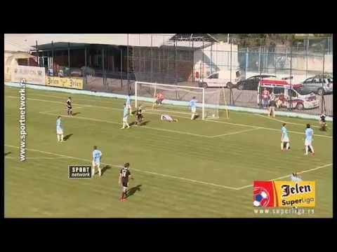 FK Rad Beograd 1-3 Cukaricki Stankom