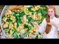 Spinach Artichoke Dip Chicken Pasta