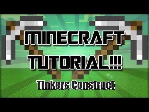 Introdução - Tutorial 1 de Tinkers Construct (Minecraft 1.6.4) PT-BR