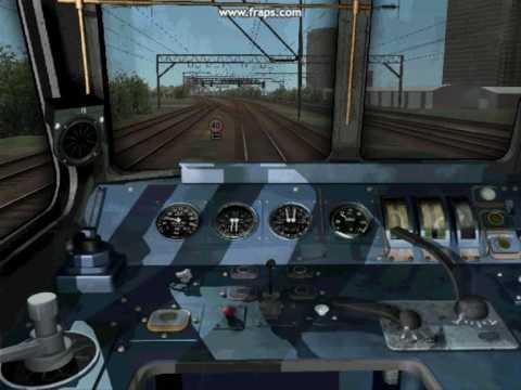 This is one of many of my journies on MSTS where I we take a cabview ride along a line. This is set in 1988 where class 86's were just being introduced on th...
