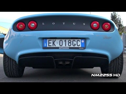Lotus Elise CR with Stage 2 Exhaust Sound