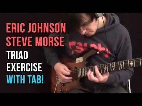 Eric Johnson/Steve Morse Triad Exercise (including tab) - by Martin Miller