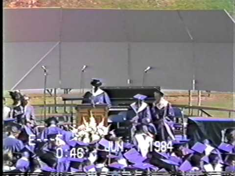 North Mecklenburg High School 1984 Graduation - Part 2