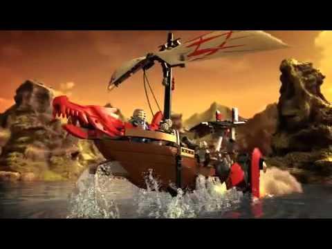 Lego Ninjago 2012 Rattlecopter Destiny's Bounty Commercial