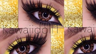 YELLOW CON BISSU MAKEUPBYPAO