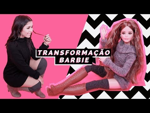 TRANSFORMEI-ME NA BARBIE! - GET THE LOOK + SORTEIO | Inês Rochinha