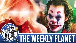 The New Joker & Captain Marvel Trailer - The Weekly Planet Podcast