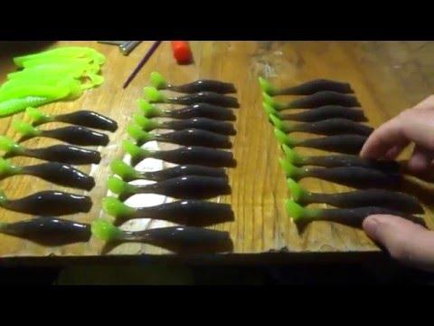 как сделать силиконовую приманку съедобной