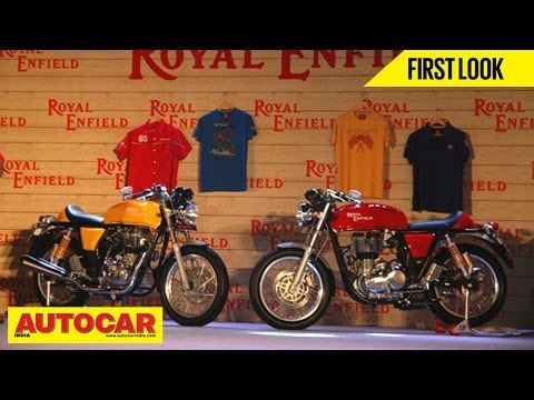 Royal Enfield Continental GT | India Launch Video | Autocar India