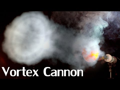 How to Make a High Velocity Vortex Cannon - Aerosol Fuelled