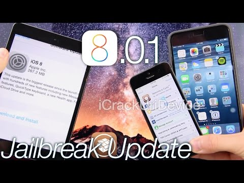 iOS 8.0.1 Jailbreak Update iOS 8. How To Fix 8.0.1. iPhone 6 Plus Avoid 8.0.x To Jailbreak & More