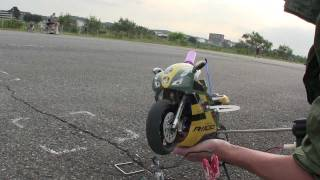 [RC][Bike]HobbyKing 1:5 Scale Nitro RC Motor Bike