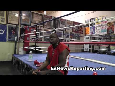 6 foot 9 boxer big daddy kane - EsNews Boxing