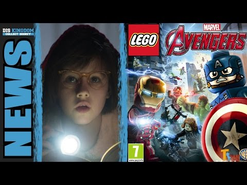 BFG & LEGO Avengers Open World Trailers Released & The Good Dinosaur's Poor Box Office - News