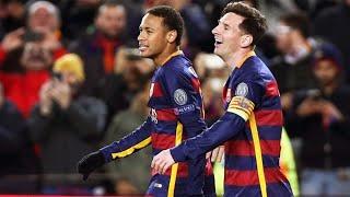 Barcelona 6 x 1 Roma ● GOLS ● Liga dos Campeões 24/11/2015 【HD】
