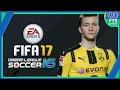 DLS 16 mod FIFA 17 Único com menu FIFA + Novas fontes numéricas e etc: Gameplay + Download!