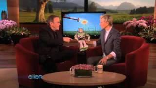 Tim Allen Brings Buzz Lightyear to Ellen!
