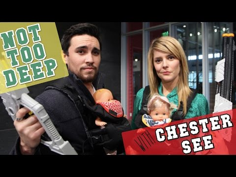 NOT TOO DEEP with CHESTER SEE // Grace Helbig