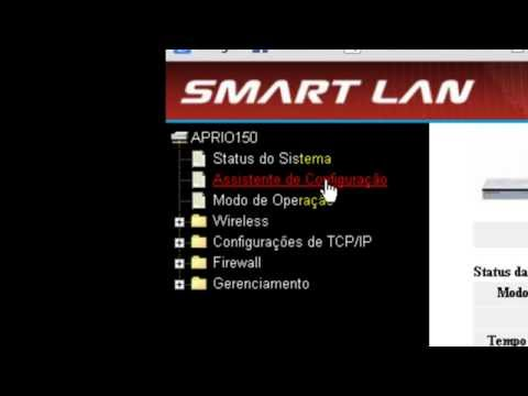 Como colocar senha no roteador Wi Fi Smart lan Router