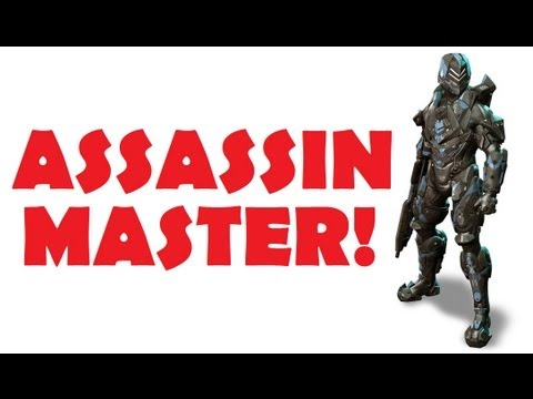 Halo 4 Tips: How To Become An Assassin Master! Venator Armor!