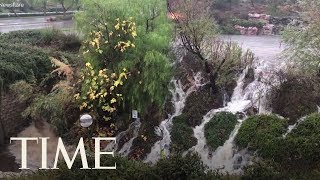 Southern California Walloped By Floods And Mudslides Amid Record-Breaking Rainfall | TIME