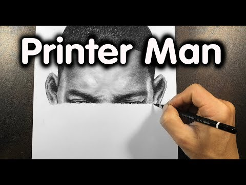 I Draw Like A Printer  Drawing Will Smith  - DP Truong