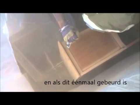 Zandstralen meubels breda