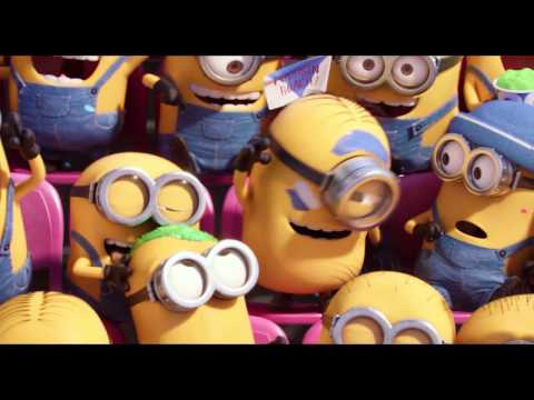 Minions (2015) Super Bowl Official Trailer (HD) Sandra Bullock, Steve Carell