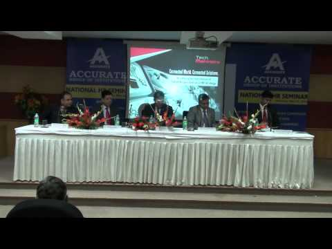 National HR-Seminar at Accurate Institute of Technology, top colleges of india