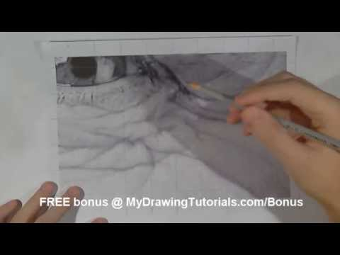 Realistic Pencil Portrait Mastery - How to Draw Wrinkles on the Face