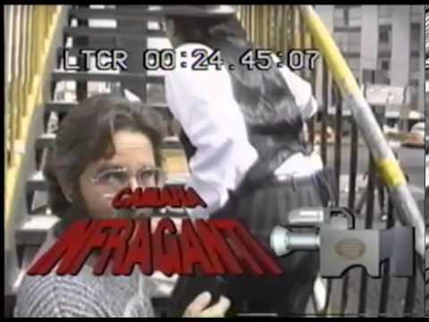 Camara Infraganti con oscar cadena 1988