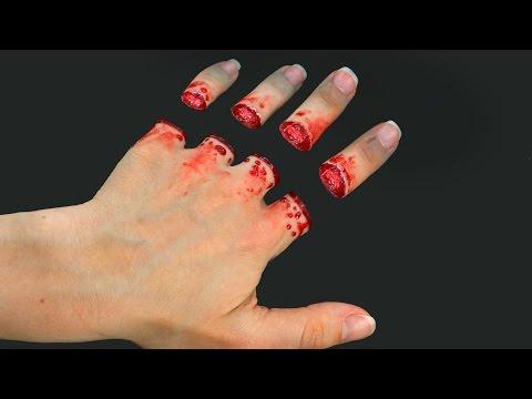I Cut My Fingers - Trick Art Optical Illusion
