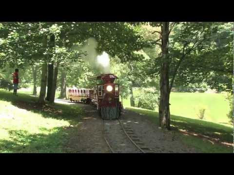 Steele Creek Park miniature train Bristol, TN