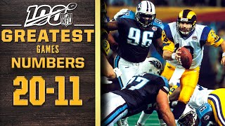 100 Greatest Games: Numbers 20-11 | NFL 100