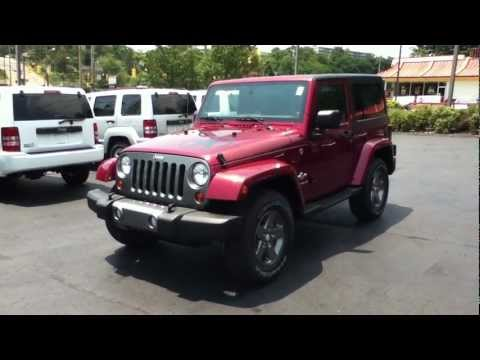 Craig Dennis' Exclusive Deep Cherry Red Jeep Wrangler Freedom Edition Deals Near Pittsburgh.