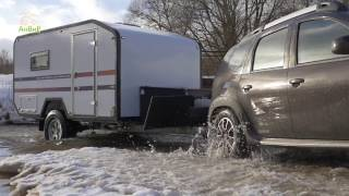 Anvir campers Via Lander - offroad camper trailer made in Russia