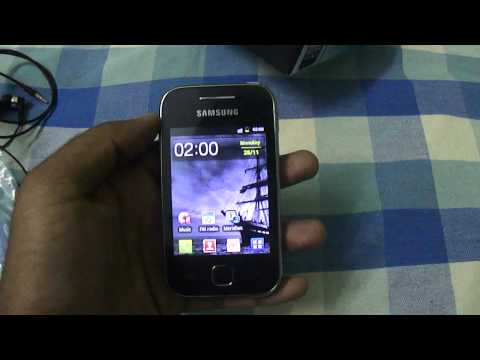 Samsung Galaxy Y (or Galaxy Young) Unboxing and Detailed Review (MODEL