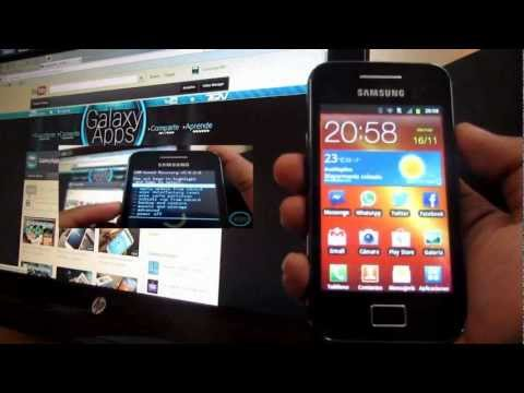 [Review] SGSII v10 Rom para Galaxy Ace S5830 (Español Mx)