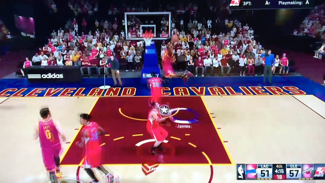 Alley Oop 2k15 2k15 Kyrie Irving Alley