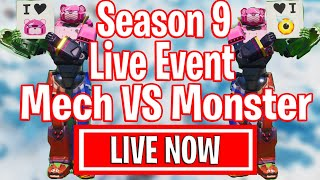 MECH VS MONSTER - INSANE Season 9 Live Event - Final Showdown Fortnite Event Cattus VS Doggus Fight