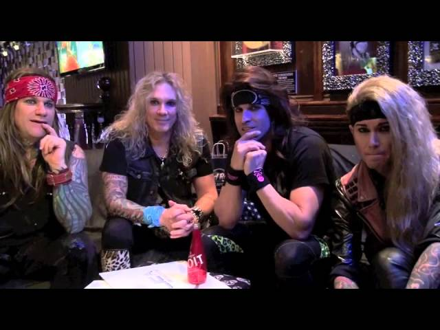 STEEL PANTHER @ HARD ROCK CAFE PARIS