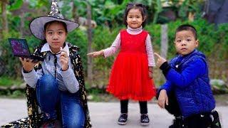 Trò Chơi Mụ Phù Thủy Thích Trang Điểm - Bé Nhím TV - Đồ Chơi Trẻ Em Thiếu Nhi
