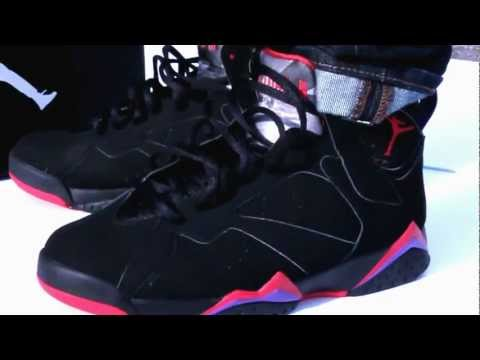 RAPTORS AIR JORDAN RETRO 7